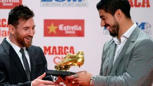 Messi Altın Ayakkabı ödülüne kavuştu