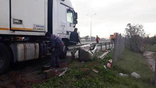İstanbul-Ankara yolu trafiğe kapandı