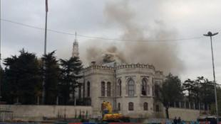 İstanbul Üniversitesi'nde yangın ! Sebebi şoke etti