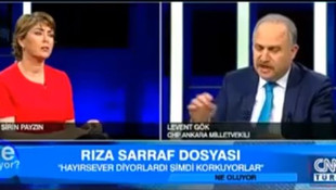 Levent Gök, canlı yayında MİT'in 2013 tarihli Rıza Sarraf raporunu açıkladı