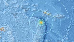 Pasifik'te büyük deprem