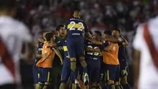 Superclasico'nun galibi Boca Juniors