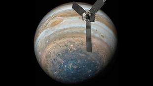 NASA Jüpiter'in yeni görüntülerini paylaştı