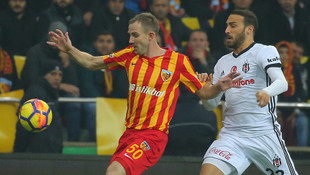 Kayserispor - Beşiktaş: 1-1