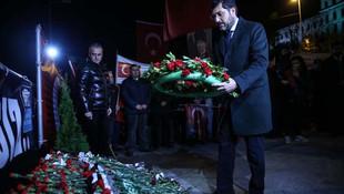 Şehitler Beşiktaş'ta böyle anıldı