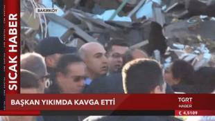 Bakırköy'de feci iş kazası, 1 işçi öldü