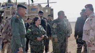 ABD'li, İngiliz ve Fransız askerler YPG liderleriyle toplandı