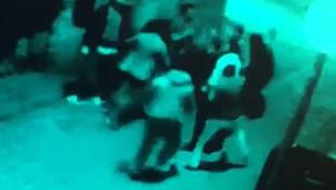 Özel harekat polisinin karıştığı kavga kamerada