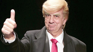 Usta oyuncuya sahnede Trump tepkisi