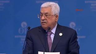 Abbas: Trump Kudüs'ü İsrail'e hediye olarak takdim ediyor