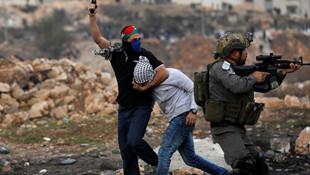 Filistin'den şok fotoğraflar ! Yüzü maskeli bir şekilde geldiler...