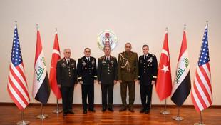 Genelkurmay'da ABD'li komutanlarla üçlü zirve