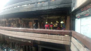 İstanbul Topkapı'da yangın paniği