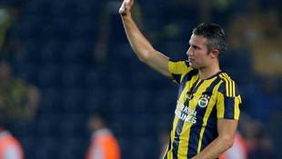 Fenerbahçe'de Van Persie için flaş karar