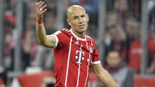 Bayern Münih'te Robben ilk yarıyı kapattı