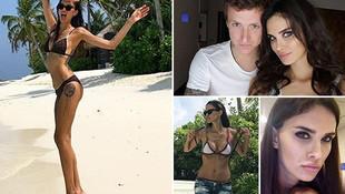 Ünlü futbolcunun eşinin çıplak fotoğrafları internete sızdı