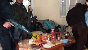 PKK'nın ininden 5 aylık erzak çıktı