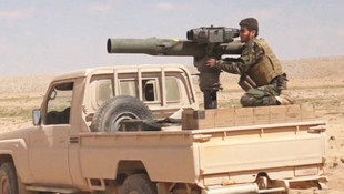 ABD'nin PYD'ye verdiği tanksavarlar Türkiye'ye çevrildi