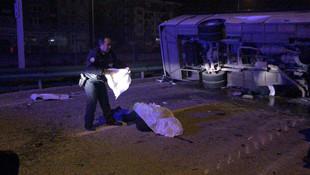 Bursa'da feci kaza ! Ölü ve yaralılar var...