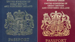 Birleşik Krallık pasaportları değişiyor