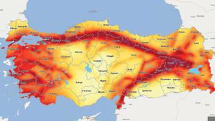 Türkiye'nin deprem haritası değişti; İstanbul'a dikkat !