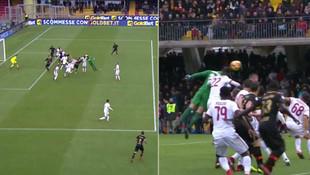 Milan'a 90+5 şoku ! Golü kaleci attı...