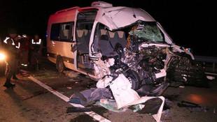 Fenerbahçeli taraftarlar kaza yaptı
