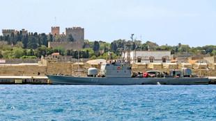 Yunanistan, Rodos'a savaş gemisi yolladı