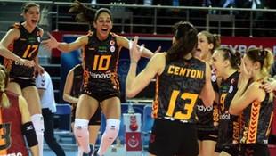 Galatasaray voleybol takımı finalde !