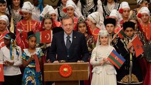 Erdoğan Nazım Hikmet'in dizeleriyle seslendi