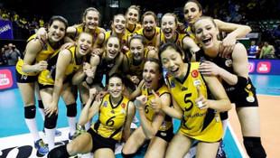 VakıfBank Avrupa şampiyonu oldu