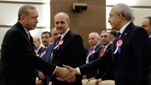Erdoğan ile Kılıçdaroğlu buzları eritti