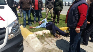 20 kişi silahlarla iş yeri bastı: 6 yaralı