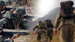 PKK'lı teröristleri Mehmetçik kurtardı