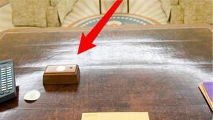 Trump'ın masasındaki kırmızı butonun sırrı çözüldü