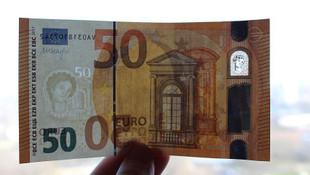 Yeni 50 avroluk banknot dolaşıma girdi