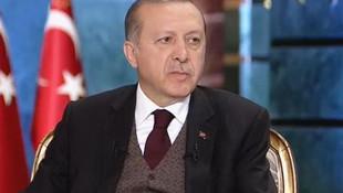Erdoğan'dan önemli açıklamalar !