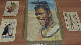 Erzurum'da Pablo Picasso tabloları ele geçirildi