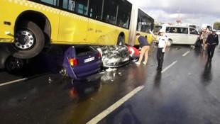 Metrobüs şoförüne tazminat şoku !