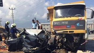 Başsavcı Alperin hayatını kaybettiği kaza anı kamerada