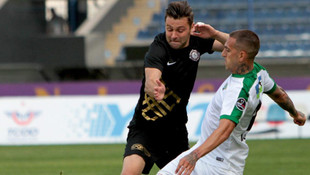 Akhisar'dan Osmanlıspor'a 4 gol !