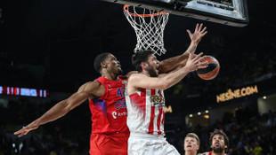 Euroleague'de ilk finalist Olympiakos