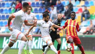 Kayseri'nin serisine Adanaspor son verdi