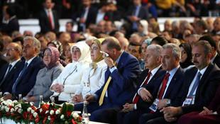 Erdoğan'ın kongrede duygusal anları