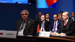Erdoğan'dan Ermenistan temsilcisine sert sözler