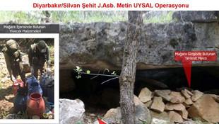 Mağaraya bomba tuzaklamışlar !