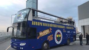 Fenerbahçe'nin otobüsü bozuldu