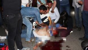 Ayvalık'ta 2 motosiklet çarpıştı: 2 ölü, 1 yaralı