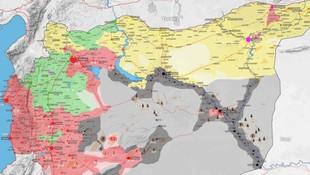 Suriye haritası bir kez daha değişti