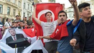 Erdoğan'a sürpriz karşılama